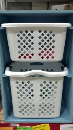 Laundry organizer ( March 2014)