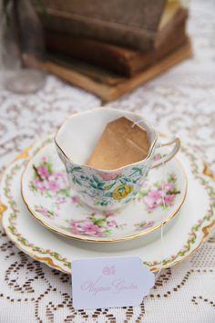 tea bag escort cards http://www.weddingchicks.com/2013/09/30/tea-party-bridal-shower/
