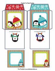 Printable Tea Packet Envelopes