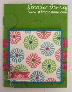 Stamping Lane, Starburst Sayings stamp and framelits, SU