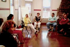 Spanish-speaking caregiver's retreat: Deep into sharing