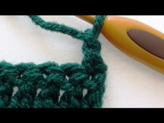 Alternative Double Crochet Turning Chain - YouTube