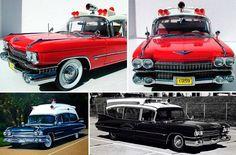The 'good old days'  cadillac 1959 ambulance