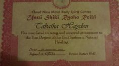 I as a Holistic Practitioner have been studying and practising three types of treatments I am trained in Usui Shiki Rhyoho Reiki first and second... holist practition, three type, pie idea, spiritu journey