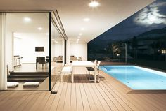 House With a Generous Glass Facade house with generous glass facade