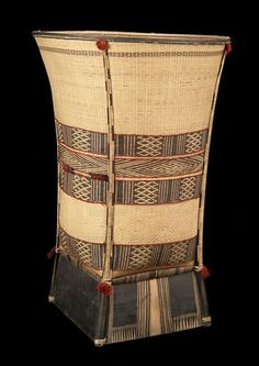 Basket from the Sedang people of Kon Tum, Vietnam