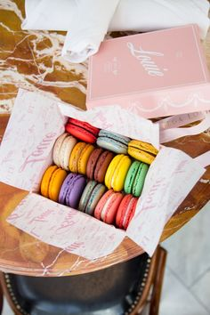 Try the Rose macaron