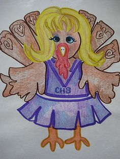 Thanksgiving... Turkeys in disguise :)