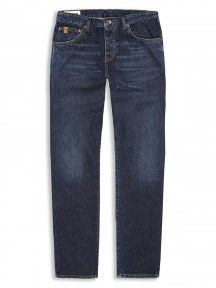 The Turnmill 6 Month Vintage Indigo Slim Leg Jeans