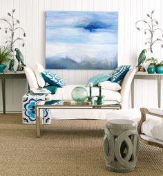 Coastal Sitting Room