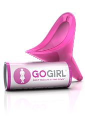 For the lady on the go ... (a handy little, pink, lifesaver for the female backcountry trekker) >>> Have you used one of these? How'd it work?