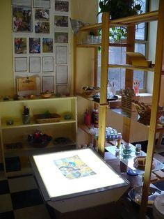studio light table