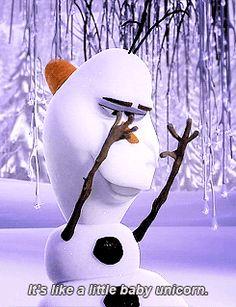 Oh, Olaf is so cute!!!