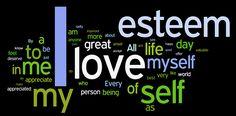self-esteem affirmations wordle