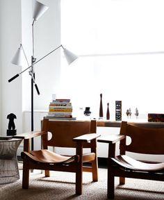 The Danish way -  Spanish Chairs by danish designer Børge Mogensen