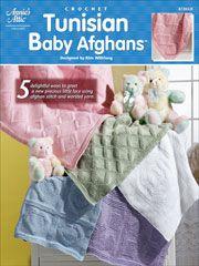tunisian baby afghan crochet book