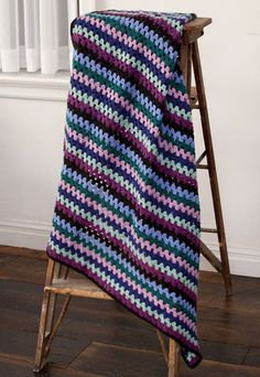 Crochet Afghan on Pinterest Afghans, Granny Square ...