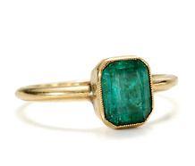 Antique #Emerald #Ring