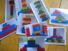 lego construction cards.