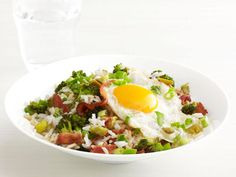 Bacon and Broccoli Rice Bowl Recipe : Food Network Kitchen : Food Network