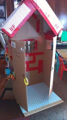 cardboard playhous