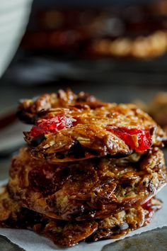 Italian Food ~ #food #Italian #italianfood #ricette #recipes ~ Chocolate Florentines