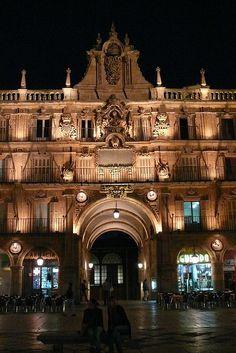 Salamanca by night  #CastillayLeon #Spain