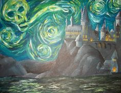 harry potter + starry starry night