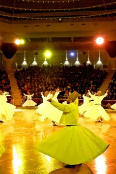 Mevlana Whirling Dervishes: Since Rumi's death in 1273, the Mevlevi Order has been commemorating him with a 10-day festival that brings even casual observers closer to a sense of the divine.