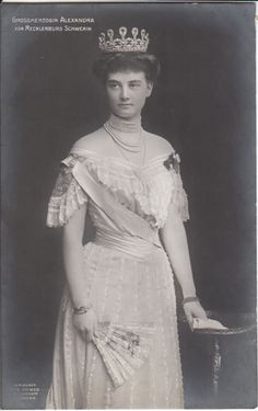 Her Royal Highness The Grand Duchess of Mecklenburg-Schwerin (1882–1963) née Her Royal Highness Princess Alexandra of Hanover and Cumberland