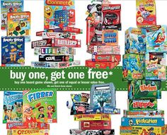 New Board Game Coupons Match to Meijer Sale Starting 12/16/12 + Rebate on Select Items!