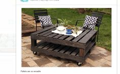 Another idea for my pallets.