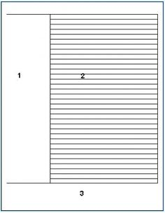 cornell note taking template .