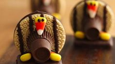 Cute Turkey Cookies | Holiday Cottage