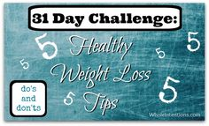 Our top five #WeightLoss tips by WholeIntentions.com.