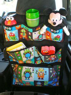 craft, patterns, babi, backseat organ, card organ, car storag, kid, car organizers