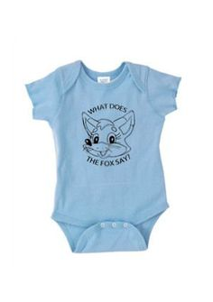 Cute What Does The Fox Say 3 Color by Shirttingme on Etsy, $12.99