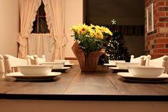 DIY wood kitchen table