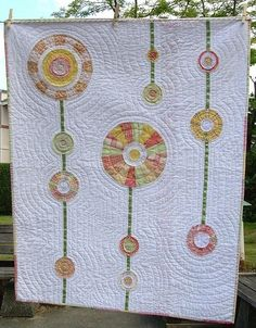 Dandelion quilt by kaitlin