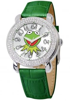 I'd love to have one of The Muppets & Kermit the Frog watches on this page. How about you?