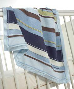 Scrapbook Boys - Knitted Blanket - Scrapbook Boys - Mamas & Papas