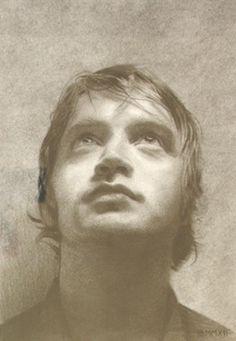 contemporary portrait by scottish artist Ian Brown