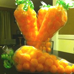 """Cheese ball """"carrots"""". Pinterest inspired. Turned out pretty cute"""