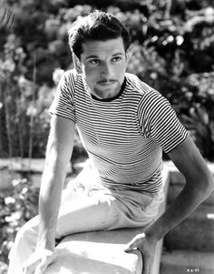 Young and handsome Laurence Olivier.