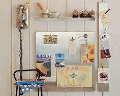 magnetic board via ohmyapartment dont use chalkboard and magnetic