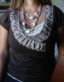 Little Inspirations: My Ruffle Collar Tutorial