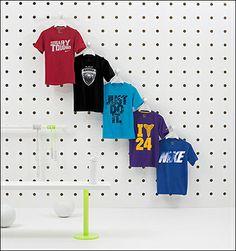 Upsized Pegboard T-Shirt Display