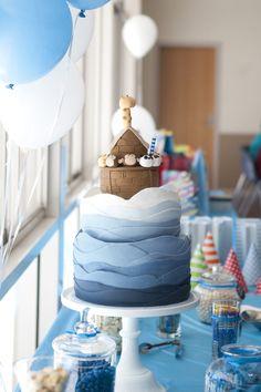 Noahs Ark Cake for my little Noahs 1st birthday :)