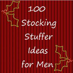 100 stocking stuffer ideas. Toddler, teen, men, women
