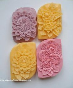 Don't eat this!!!! This is a soap carving!!!! Pretty...